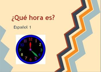 ¿Qué hora es? - Telling Time in Spanish