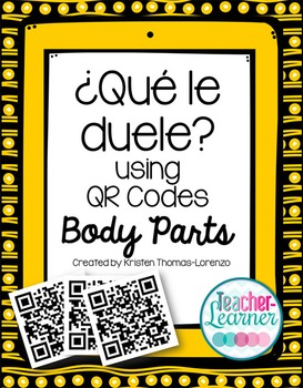 ¿Qué le duele? - A QR Code Activity