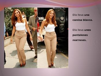 ¿Qué llevan las celebridades? (What do celebrities wear?)