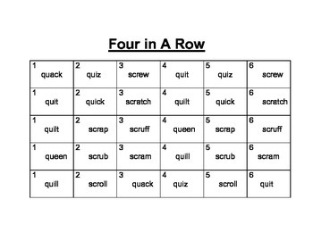 Qu/Sr 4-In-A-Row