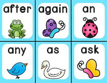 Quack! A Spring Sight Word Game: 1st Grade