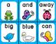 Quack! A Spring Sight Word Game: Pre-Primer