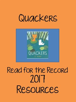 Quackers - Read for the Record 2017 Resource Pack