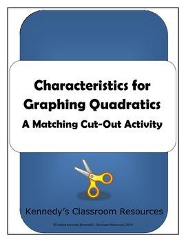 Quad Squares - Matching Characteristics of a Quadratic Graph