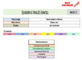 Quadern senzill d'Anglès versió 2.0