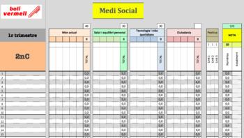 Quadern senzill per a tutors