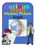 Quadrant 1 Coordinate Graph Mystery Picture, Angel Fish
