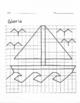 Quadrant 1 Coordinate Graph Mystery Picture, Gloria Boat