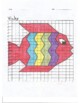 Quadrant 1 Coordinate Graph Mystery Picture, Vicky Fish