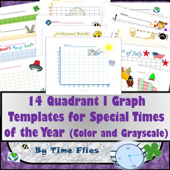 Quadrant 1 Graphs For Special Times of the Year