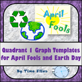 Earth Day and April Fools Day Quadrant 1 Graphs