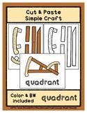 Quadrant - Cut & Paste Craft - Super Easy Perfect for Pre-