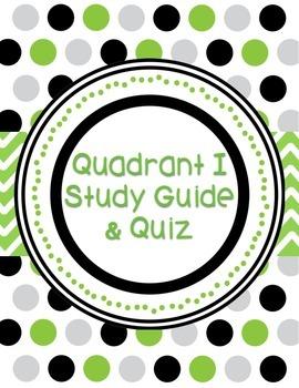 Quadrant 1 Study Guide and Quiz