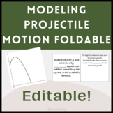 Quadratic Application Real World Projectile Foldable - EDITABLE
