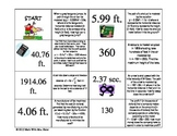 Quadratic Applications Dominos Activity