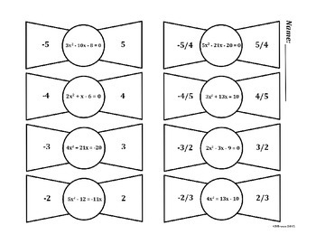 Quadratic Bowties