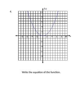 Quadratic Carousel Activity