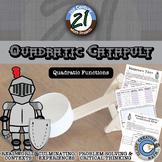 Quadratic Catapult -- Integrated Physics & Advanced Algebra STEM Project