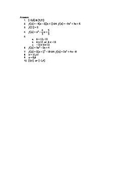 Quadratic Challenge Questions