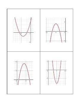 Quadratic Characteristics Sorting Activity