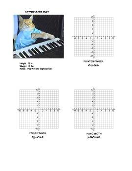 Quadratic Clue - an Algebra 1 or 2 Quadratics Math Project