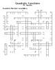 Quadratic Crossword puzzle
