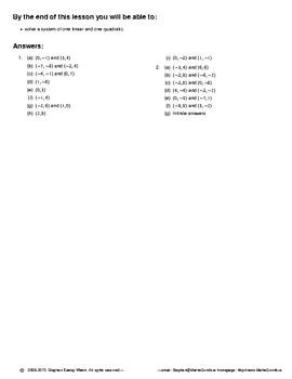 Quadratic & Cubic Equations – Solve & Sketch Quadratics