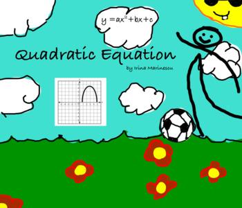 Smartboard Math Lesson Quadratic Equation