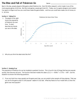 Quadratic Equation Word Problems (Real World Analysis)