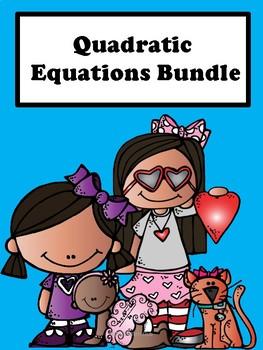 Quadratic Equations: Bundle