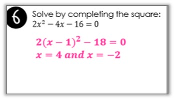 Quadratic Equations Find Someone Who Activity