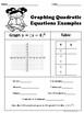 Quadratic Equations No Prep Lesson