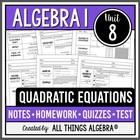 Quadratic Equations (Algebra 1)