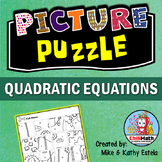 Quadratic Equations Picture Puzzle