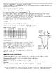 Quadratic Equations Regents Review (Notes & Graphing)