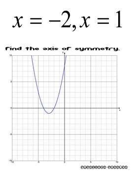 Quadratic Equations Scavenger Hunt - PP