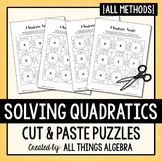 Quadratic Equations Puzzles (All Methods)