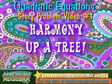 Quadratic Equations - Story Problem Video 2