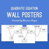 Quadratic Equations Wall Posters