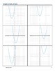 Graphing Quadratic Equations and Graphs Sort and Interactive Bulletin Board