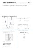 Quadratic Exam