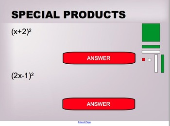 Quadratic Expressions Lesson 2 - Special Products and Conjugates