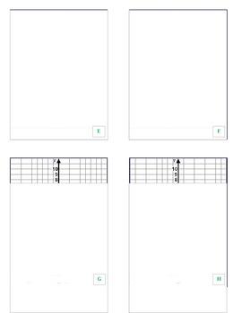 Quadratic Flash Cards - Match Game