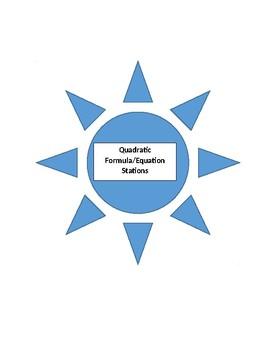Quadratic Formula/Equation Stations