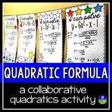 Quadratic Formula Math Pennant Activity