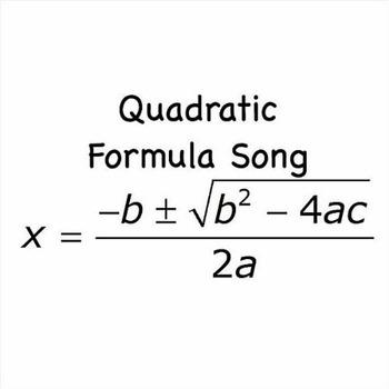 Quadratic Formula Song mp3 by Kathy Troxel / Audio Memory