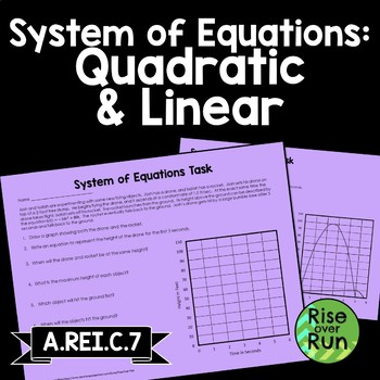 Quadratic Function Task