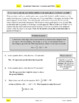Independent Work Packet: Quadratic Functions (Coconuts and UFOs)