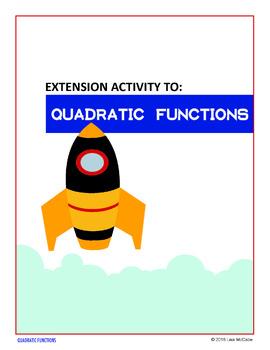 Algebra: Quadratic Functions - Extension Using Desmos