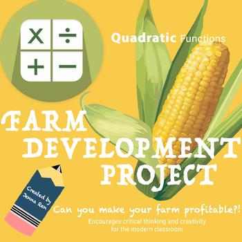 Quadratic Formula and Regression: Farming Project and Lab